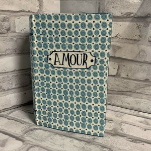 Anthropologie Ex Libris Book Of Amour Planter Vase